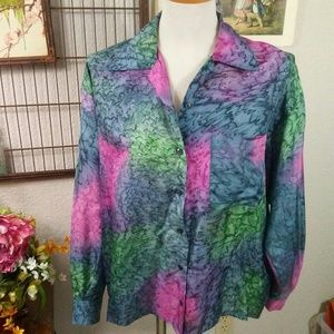 Water color blouse